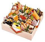 京都の料亭 濱登久 おせち料理 2019 一段重 全29品 盛り付け済み 冷蔵 生おせち お届け日:12月31日