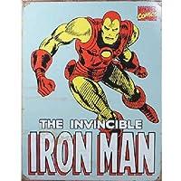 【ブリキ看板】Iron Man/アイアンマン アメリカンヒーロー [並行輸入品]