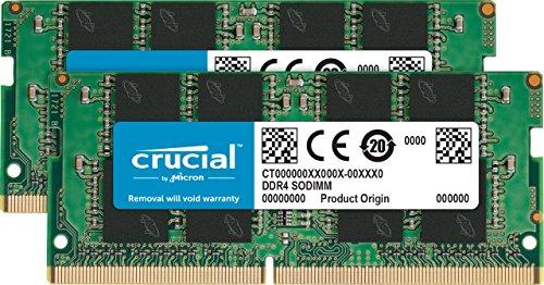 Crucial [Micron製] DDR4 ノート用メモリー 8GB x2 ( 2400MT/s / PC4-19200 / 260pin / SODIMM) 永久保証 CT2K8G4SFS824A