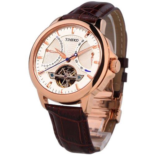 Time100 ナビゲーター・シリーズ フライホイール型 日付 夜光付 高級機械式 オートマチック メンズ腕時計 #W70035G.02A