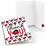 Modern Ladybug Thank You Cards (8 count)
