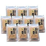 黒豆茶 黑豆茶 遊月亭 黒豆100% 発芽焙煎 ティーパック10包入を10袋 お徳用