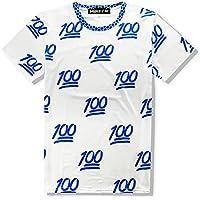 (Make 2 Be) 面白Tシャツ 100点 満載 スタイリッシュ Tシャツ Uネック MF44