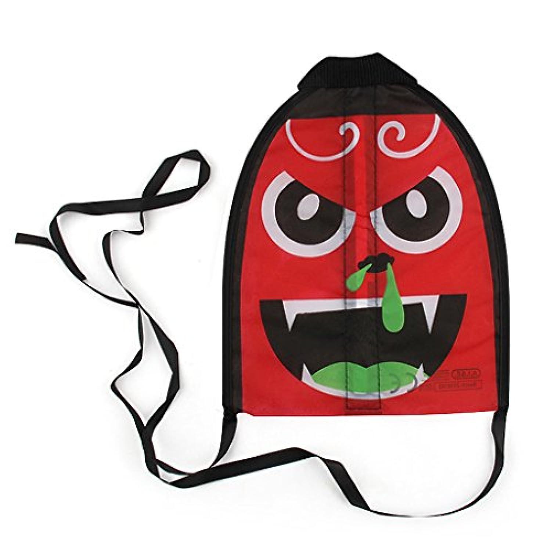 Fenteer カタパルトカイト おもちゃ ミニ 面白い カイト 漫画 テール 屋外玩具 - 赤