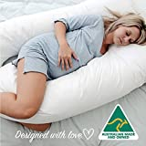 Australian Made Pregnancy / Maternity / Nursing Pillow with Pillowcase   This multi-purpose maternity pillow designed to provide optimal support for both mums and babies while breastfeeding. Regardless of which position you prefer, this pillo...