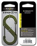 NITE-IZE(ナイトアイズ) S-BINER エスビナー プラスチック #4 オリーブ SBP4-03-08