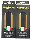 2本セット Veloflex Record レコード 超軽量クリンチャータイヤ 700c ヴェロフレックス (700×23c) [並行輸入品]