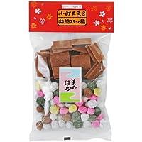 一袋で二つの味 五色豆と八ツ橋の袋入 豆八 小 125g入