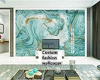 Mbwlkj 3D写真壁画リビングルームゴールデンボールソフトバッグ壁紙ホテルの寝室現代のバックグラウンド絵画写真壁紙-200cmx140cm