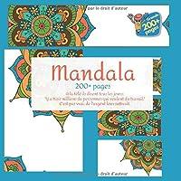 """Mandala 200+ pages - A la télé ils disent tous les jours: """"Y a trois millions de personnes qui veulent du travail."""" C'est pas vrai: de l'argent leur suffirait."""