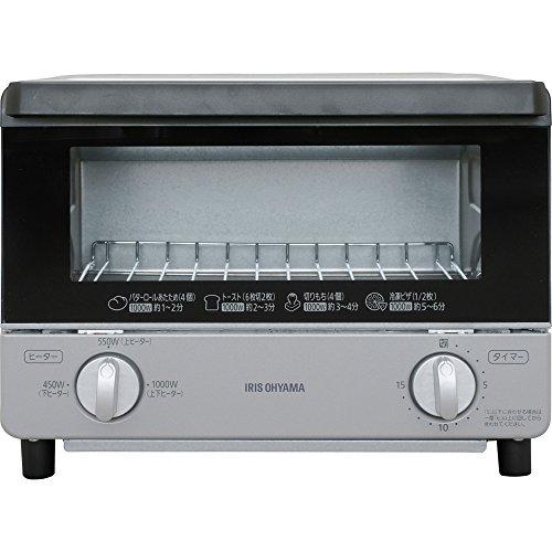 アイリスオーヤマ オーブントースター 温度調節機能付き EOT...