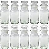 ワグナービン ガラス蓋 スパイス瓶 -10本セット-
