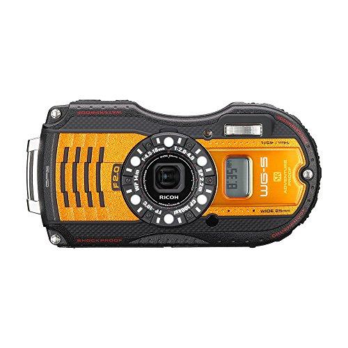 RICOH防水デジタルカメラWG-5GPSオレンジ防水14m耐ショック2.2m耐寒-10度RICOHWG-5GPSOR04662