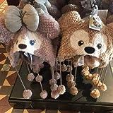 ハロウィン上海 香港 ディズニー ダッフィー シェリーメイ 帽子 ファンキャップ イヤーハット クッキー ステラルー