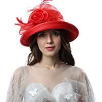 Original One Women's Cloche Bowler Hats KDC1701 for Kentucky Derby Day, Church, Wedding, Tea Party and More Formal Occasion