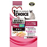 ファーストチョイス 高齢猫 15歳以上 長生き猫の腎臓の健康維持 チキン 1.5kg ペット用品 猫用食品(フード・おやつ) プレミアム・キャットフード [並行輸入品]