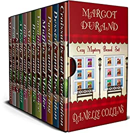 Margot Durand Cozy Mystery Boxed Set: Books 1 - 12 by [Collins, Danielle]