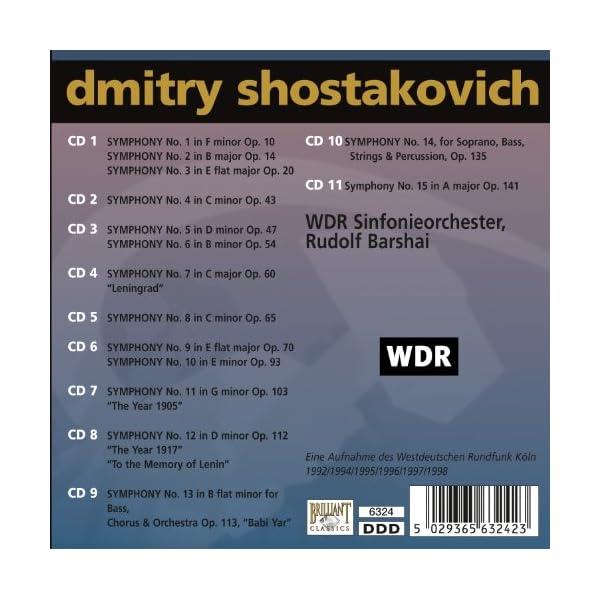 ショスタコーヴィチ:交響曲全集 (Shosta...の紹介画像2