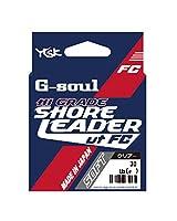よつあみ(YGK) ショックリーダー G-SOUL ハイグレードショアリーダー FC ソフト フロロカーボン 30m 4号 17.5lb クリアー