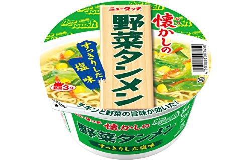 ニュータッチ 懐かしの野菜タンメン カップ 91.1g