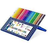 ステッドラー 色鉛筆 エルゴソフト 三角軸 24色 157SB24