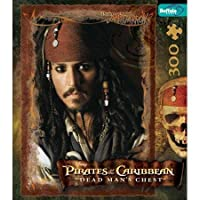 Captain Jack Sparrow Pirates of the Caribbean Jigsaw Puzzle 300pc by Buffalo Games