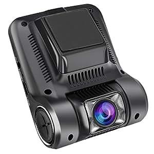 ドライブレコーダー 1080P FULL HD 1200万画素 高感度CMOSセンサー IPS高画質パネル 170°広角 常時録画 動体検知 Gセンサー 駐車監視 暗視機能 ループ録画 日本語説明書付き TecBillion 12ヶ月保証