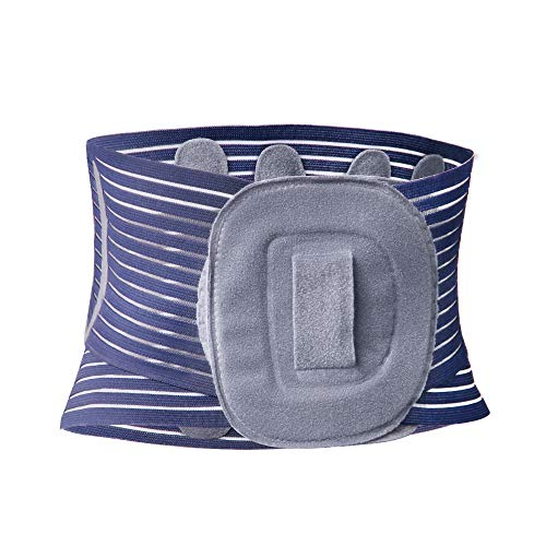 SAYOKO 腰痛 サポートベルト コルセット 腰 サポーター 薄型 通気 加圧 腰椎固定/保護 シェイプアップ 男女兼用 (M)