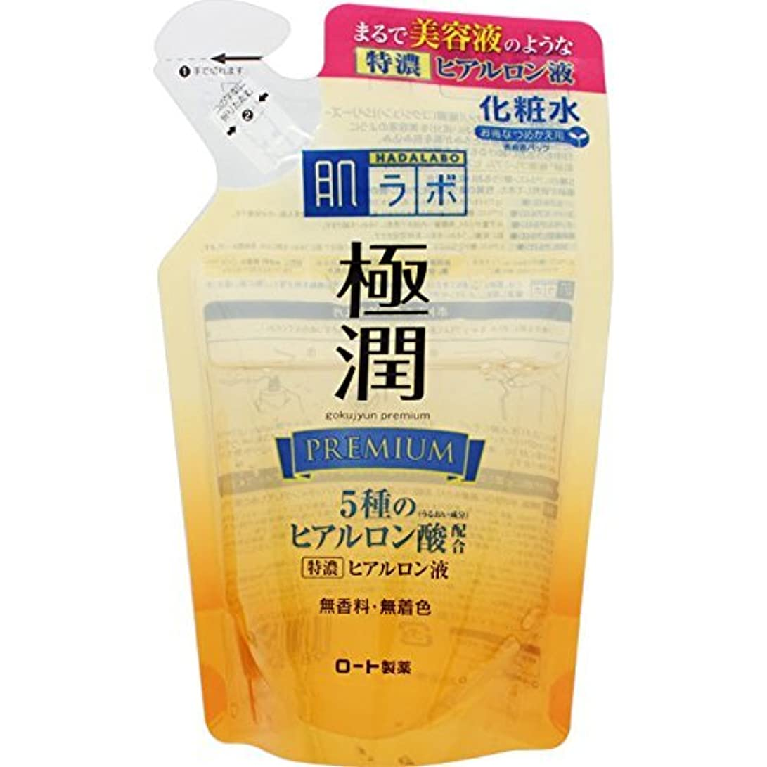 優先誘導新年肌研 極潤プレミアム ヒアルロン液 つめかえ用 170mL