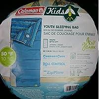 coleman コールマン KIDS キッズ 寝袋 ブルー 152x66cm