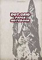 Dot Grid Paper Notebook: Cat A4 Dotted Paper Journal For Design, Drawing, Creating Own Bullet Style Journals, Games and More | Vintage Cats Drawing Print