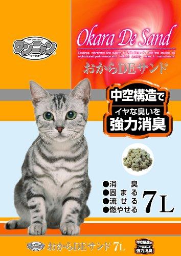 猫砂 ワンニャン おからDEサンド   7L  / ワンニャン