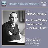 ストラヴィンスキー:自作自演集 - バレエ音楽「火の鳥」/「ペトルーシュカ」/「春の祭典」
