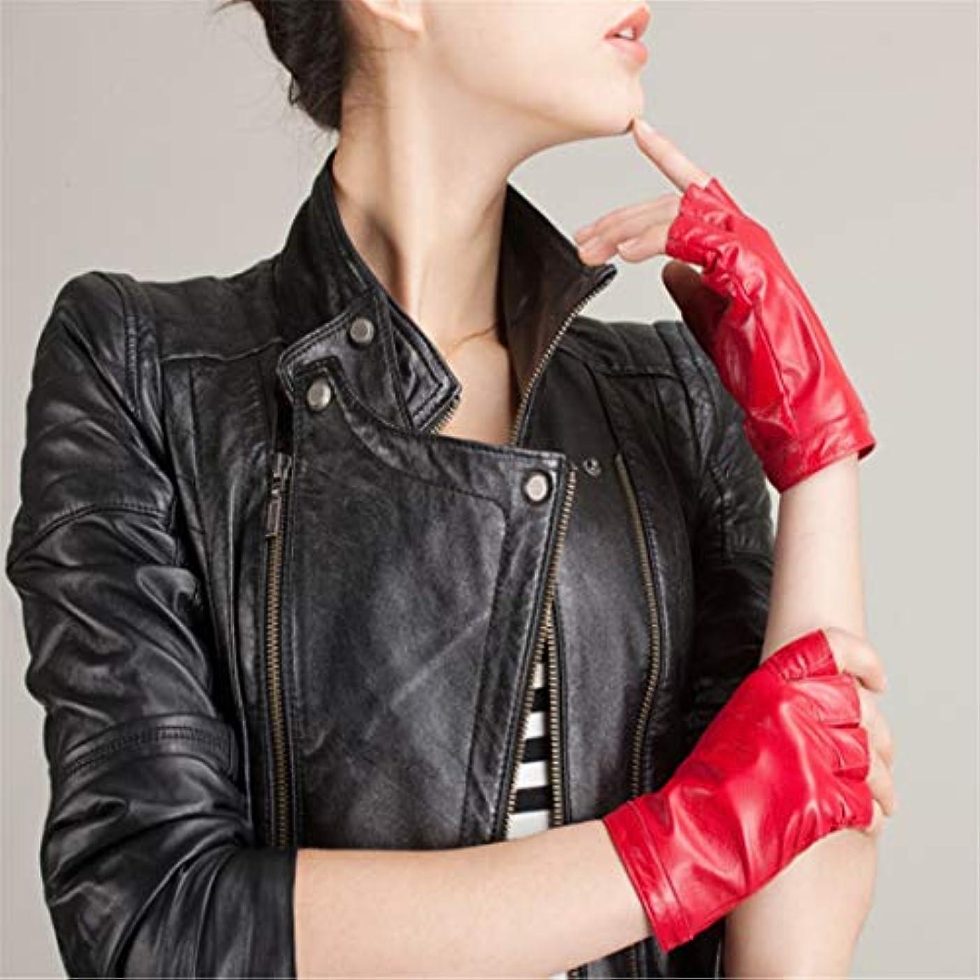側珍味家畜女性のファッションミットメンズストリートダンスキャットウォーク中性手袋S-XL