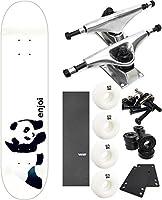 "Enjoi Skateboards Whitey Pandaスケートボード7.75"" X 31.5"" Complete Skateboard–7項目のバンドル"