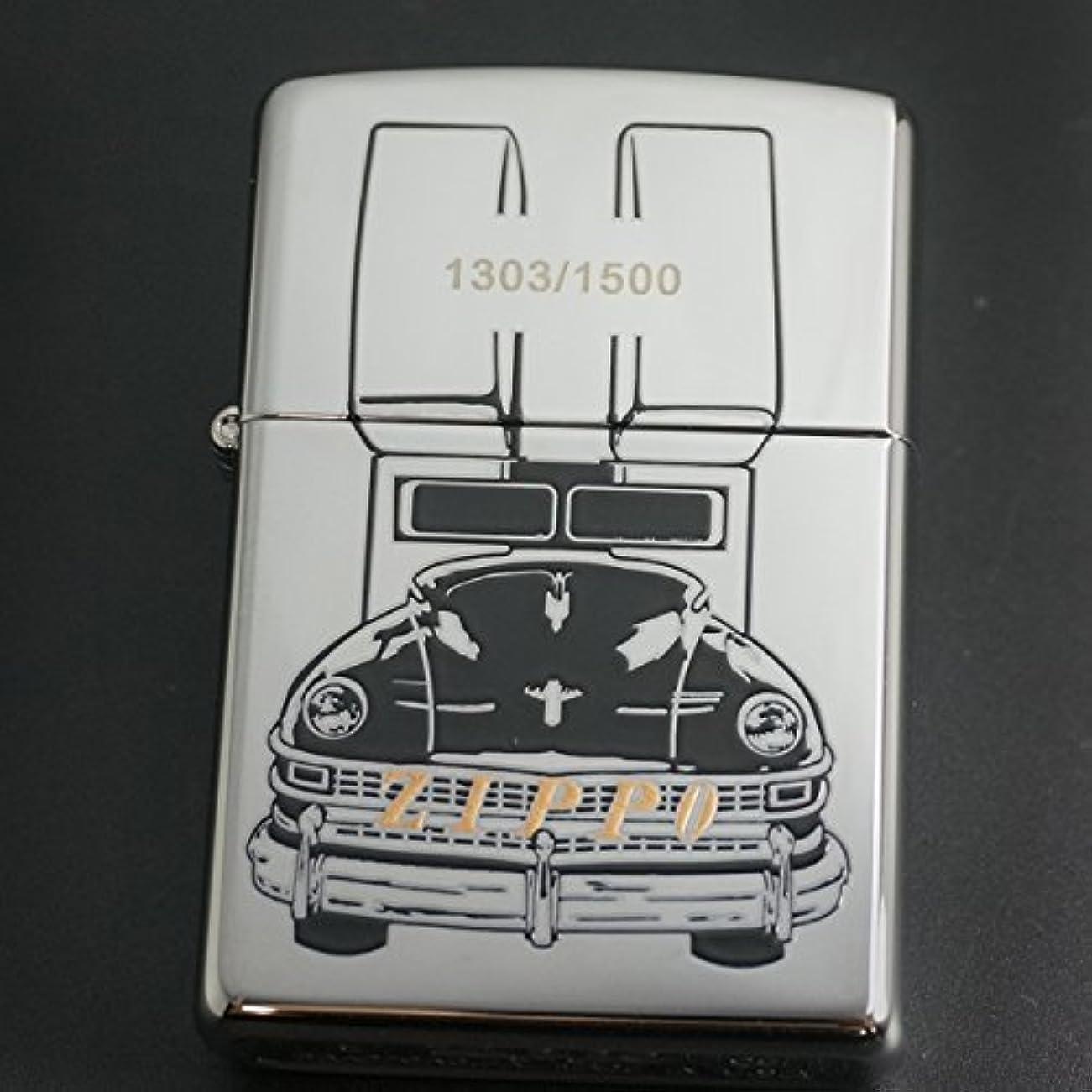 寸前ダイヤモンド校長zippo ZIPPOCAR 両面デザイン 2008年製造