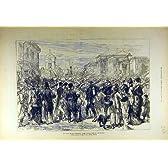 戦争のロシア帝国監視ブカレストの 1877 軍隊