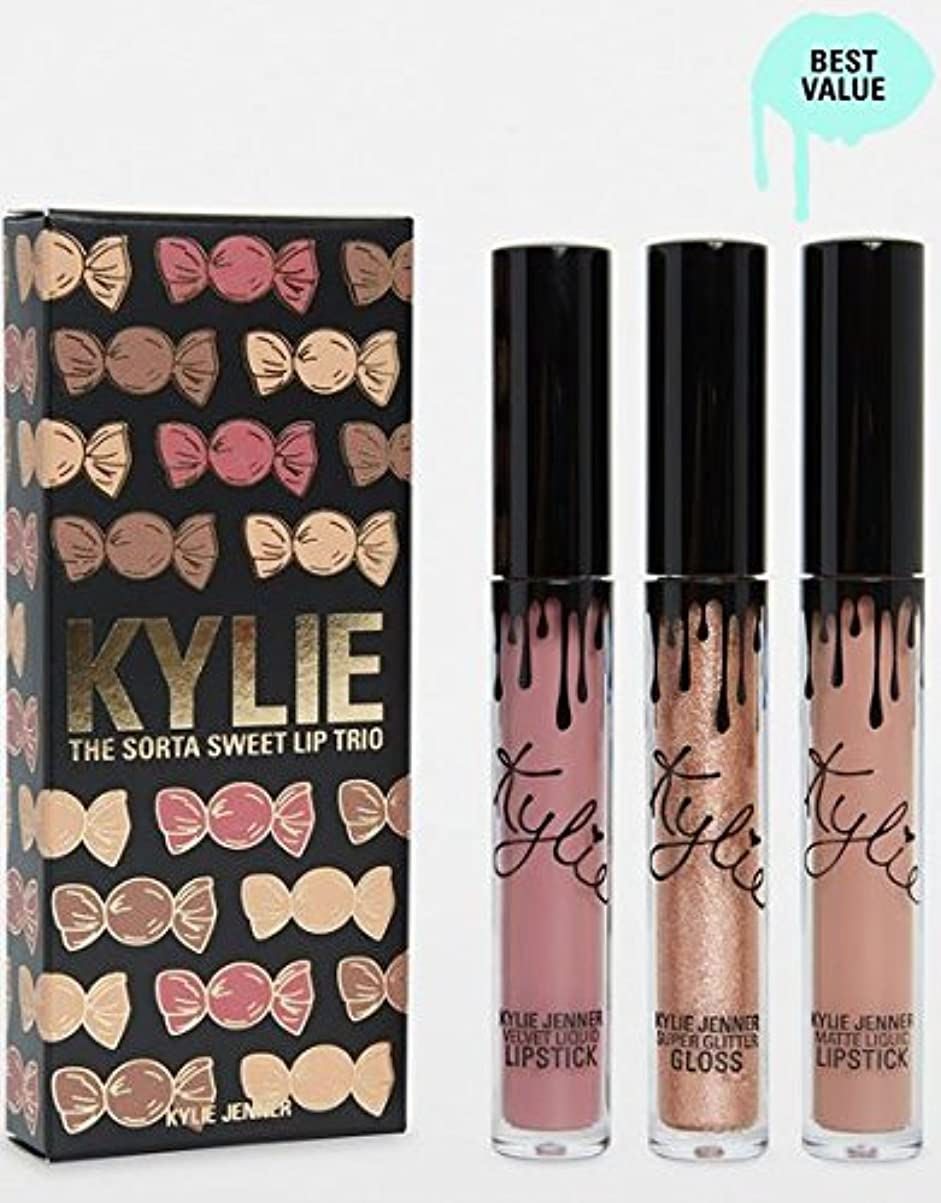 メンテナンス永久任命するKylie Cosmetics Sorta Sweet Trio | Lip Set カイリーコスメティックス