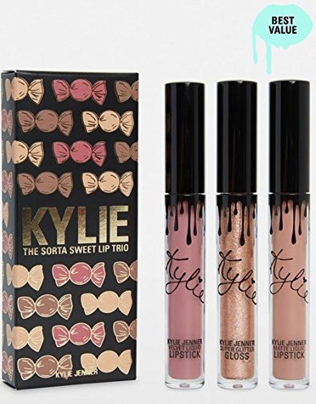 タブレット結び目指定Kylie Cosmetics Sorta Sweet Trio | Lip Set カイリーコスメティックス