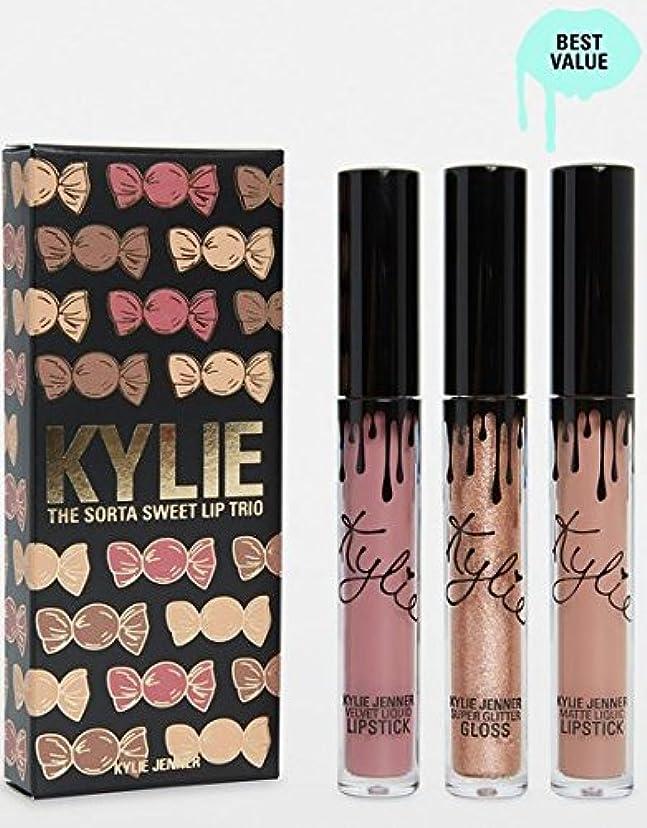 絶壁と遊ぶリフレッシュKylie Cosmetics Sorta Sweet Trio   Lip Set カイリーコスメティックス