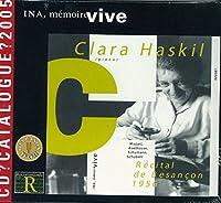 CVLARA HASKIL/ RECITAL DE BESANCON 1956