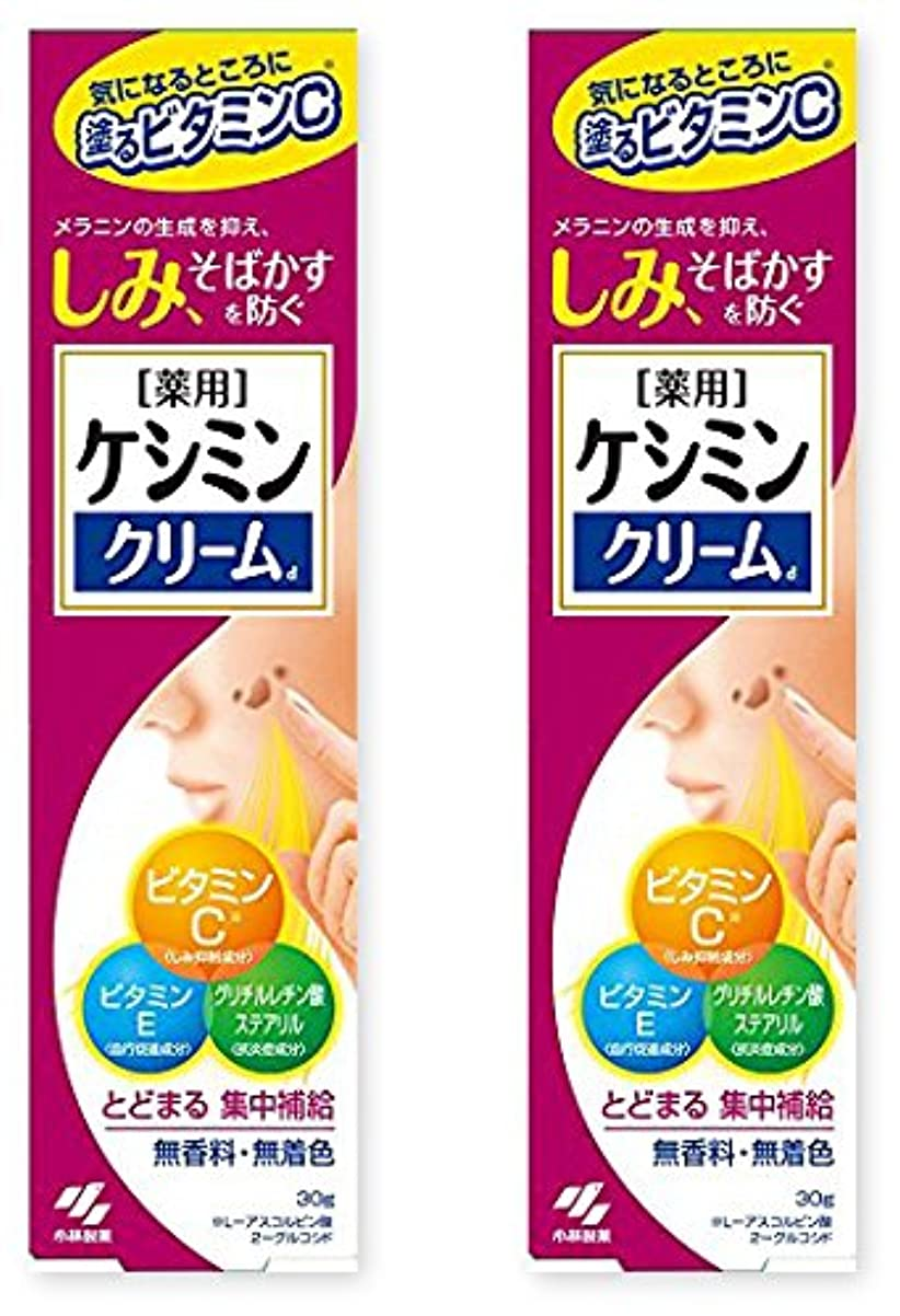 うんざり混雑哀ケシミン クリームd 30g ×2セット