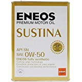 エネオス プレミアムオイル サスティナ 0W-50 4L ENEOS SUSTINA