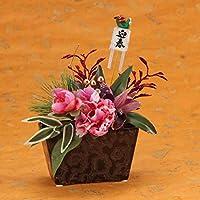 お正月飾り(ボタン)シルクフラワー・造花
