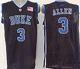 Men 's DukeブルーDevils No。3アレンバスケットボールジャージーNCAAバスケットボールジャージー US サイズ: Large