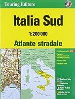Italy South atlas - atlante stradale Sud tci (r) 2015