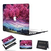 MacBook Air 13 Touch ID 2018リリースA1932 iLoverプラスチックシェルカバーのみ互換性のある最新バージョンMacBook Air 13インチRetina/Touch IDモデル:A1932ピンクスカイ