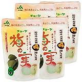 チョーヤ 甘漬け梅の実 250g (4袋)