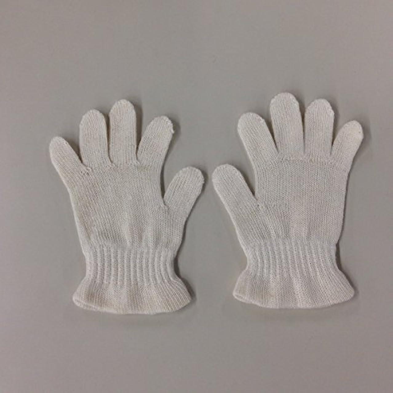 比率洋服砲撃(ASAFUKU) 麻福 おやすみ 手袋 肌に優しい ヘンプ素材 乾燥対策 Bサイズ(幼児~園児用))