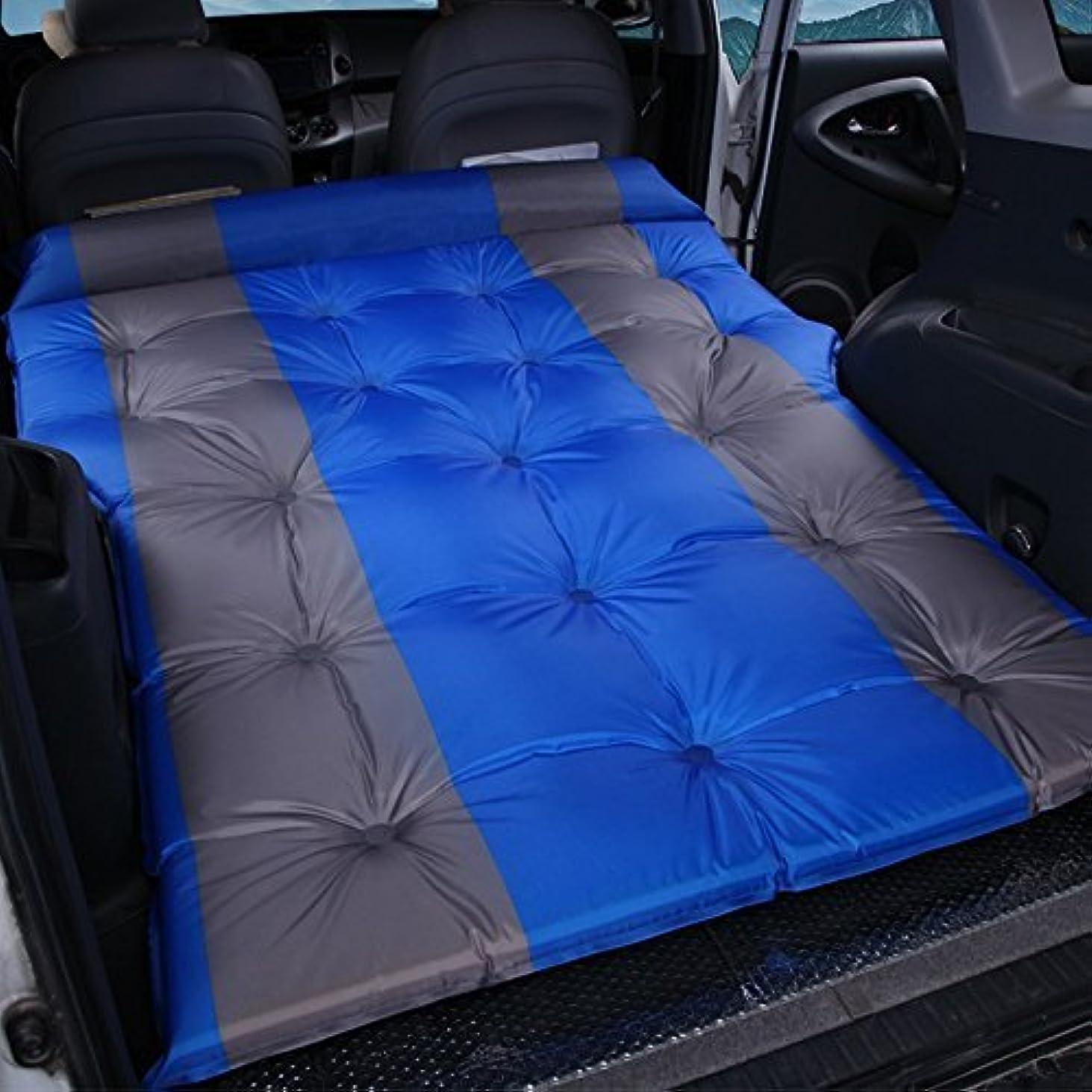 結果として戸惑う助けになる自動インフレータブルベッドsuv車のベッド、厚く折り畳まれた屋外レジャー睡眠マット休暇旅行ベッド車のマットキャンプ防湿パッドカー用品ポータブル195 * 140 cm